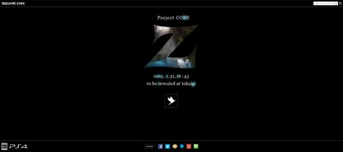 """Square Enix Teases PS4 Exclusive """"Project Code Z"""""""