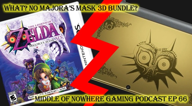 MONG Podcast – What? No Majora's Mask 3D Bundle?