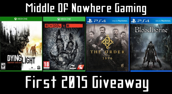 First 2015 Giveaway! Win Your Choice of Game!