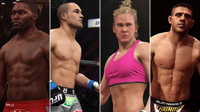 EA Sports UFC Adds Four in Latest Update
