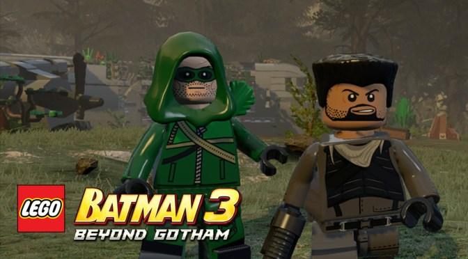 Take Aim With Arrow in Lego Batman 3: Beyond Gotham DLC