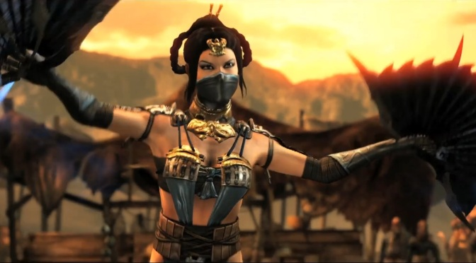 First Look At Kung Lao and Kitana In Action For Mortal Kombat X