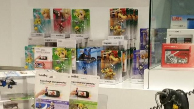 Retailer-Exclusive amiibo Available at Nintendo World Store