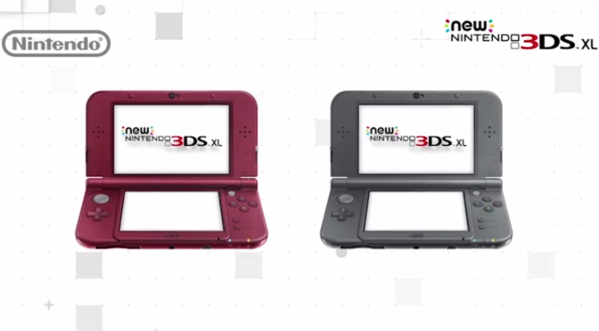 New Nintendo 3DS XL coming in February
