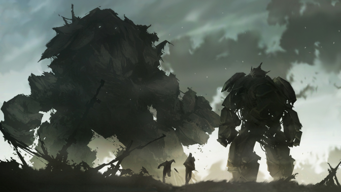 Naughty Dog Artist Draws Shadow of the Colossus Artwork