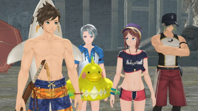 New Tales of Zestiria Trailers Show Off Costume DLC