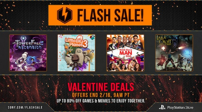 PlayStation Valentine Flash Sale