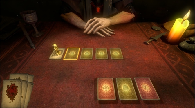 Playing Hand Of Fate Early Access