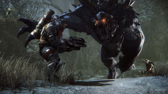 Evolve Gets Action Packed Launch Trailer!