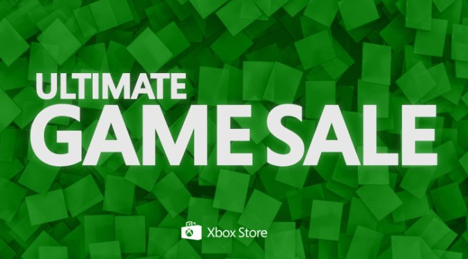 Microsoft Holding Ultimate Game Sale This Week