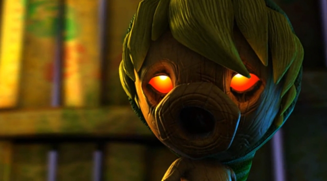 New The Legend of Zelda: Majora's Mask 3D Trailer Evokes Old School Feeling