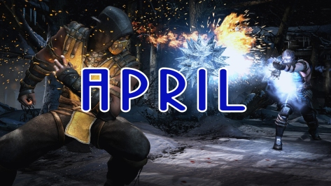 mortal kombat x - april copy