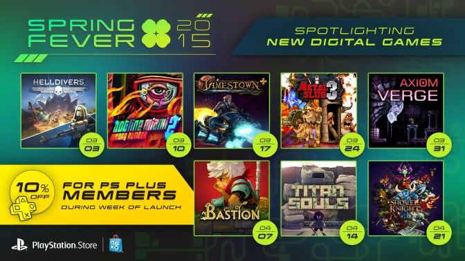 PlayStation Spring Fever 2015