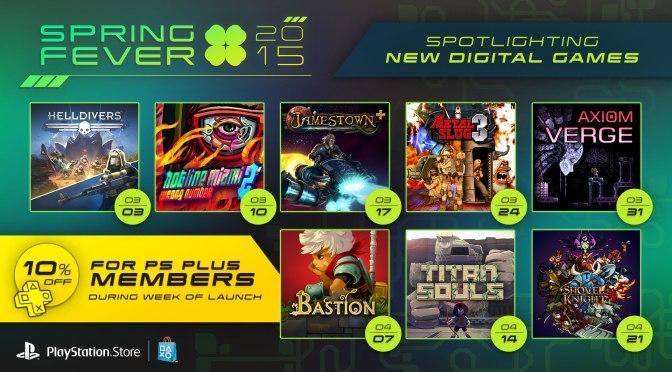 PlayStation Spring Fever 2015