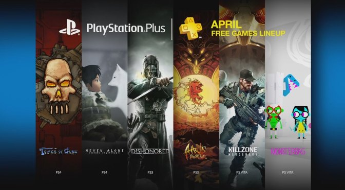 PlayStation Plus Games for April 2015