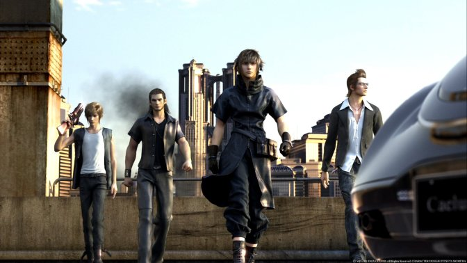Final Fantasy XV Map Size Detailed
