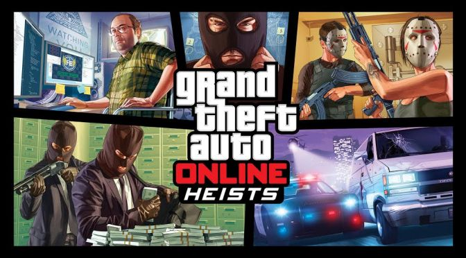 Grand Theft Auto V Heists Are Now Live!