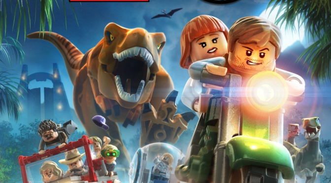 LEGO Jurassic World Gets A New Trailer