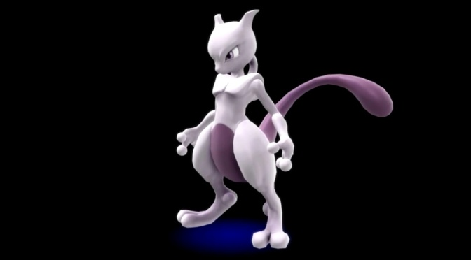 Mewtwo Coming to Super Smash Bros. Soon