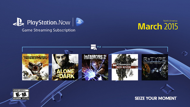 PlayStation Now is receiving 5 new games in March!