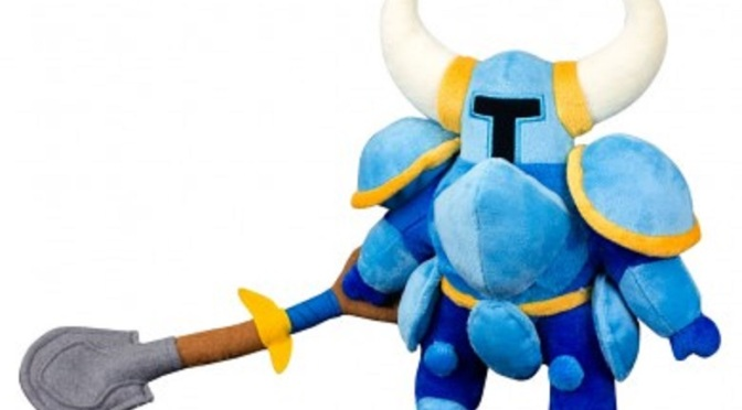 Shovel Knight Plushie Coming Later this Month
