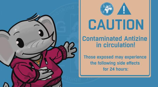 Warning: Contaminated Antizen in Circulation