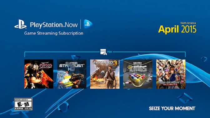 PlayStation Now Adds Five More Games