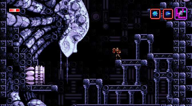 Axiom Verge Speedrun on the Verge of Being Insane