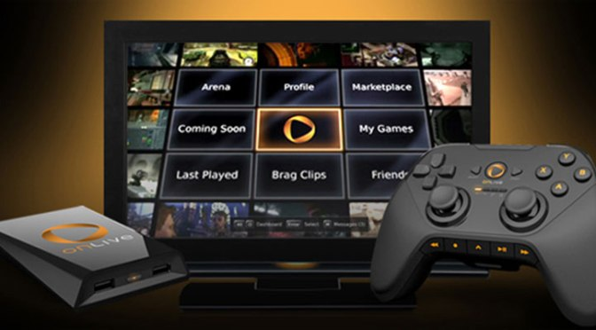 OnLive Assets Purchased by Sony