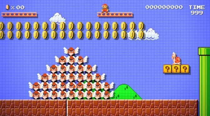 Mario Maker Coming this Fall! No foolin!