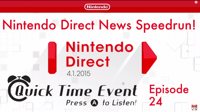 Nintendo Direct News Speedrun!