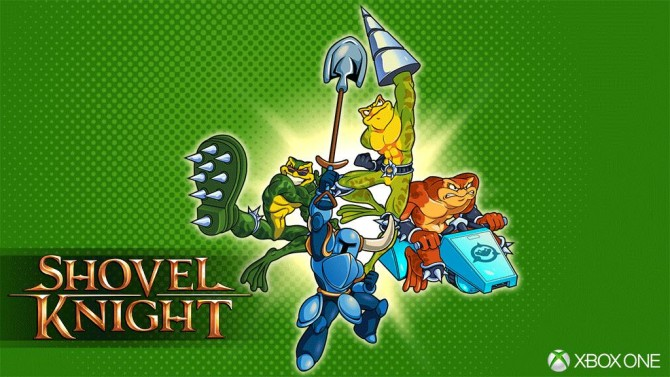 Shovel Knight Heading to Xbox One Next Week!