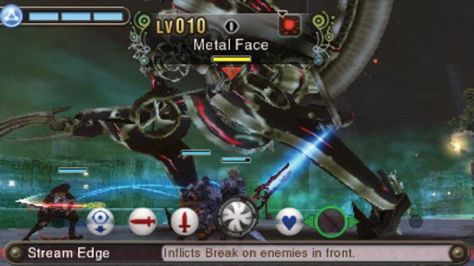 xenoblade chronicles 3d metal face