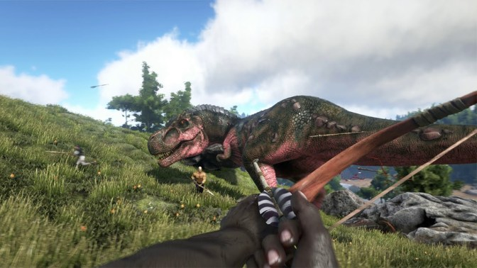 ARK: Survival Evolved Announced, Lets You Ride Dinosaurs!
