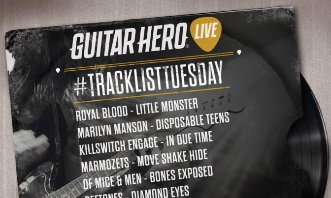 Guitar Hero Live Setlist Expanded