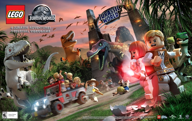 Lego Jurassic World Gets A Release Date