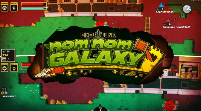 Nom Nom Galaxy Launches onto PS4 Next Week