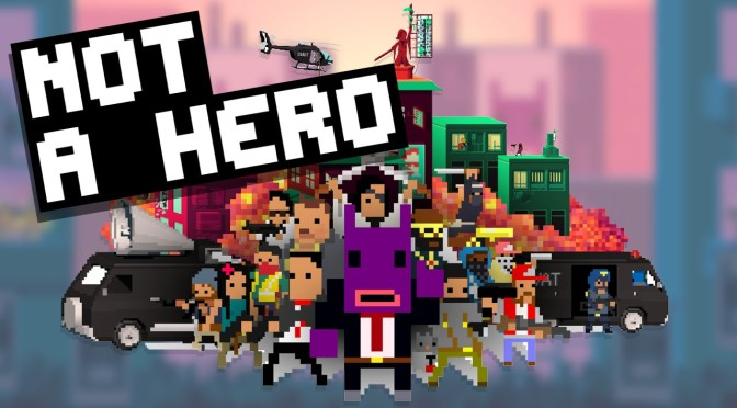 Not A Hero is Not a PS Vita Game Anymore, PS4 Release Date Set