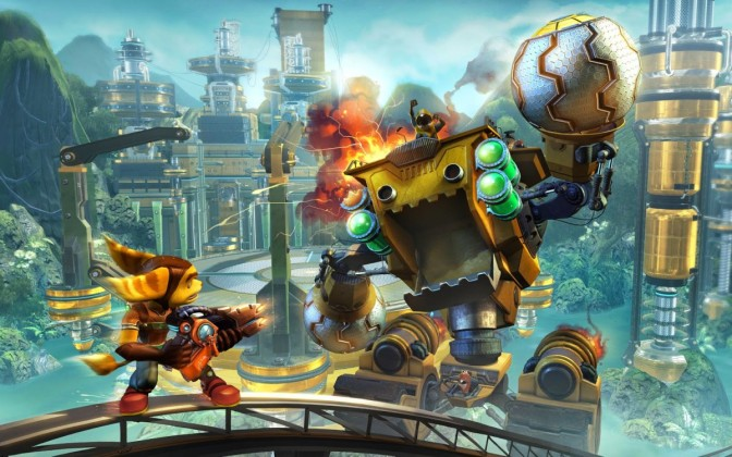 Ratchet and Clank Game and Film to release Spring 2016