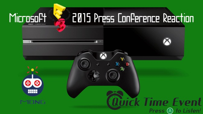 Quick Time Event – Microsoft's E3 2015 Press Conference