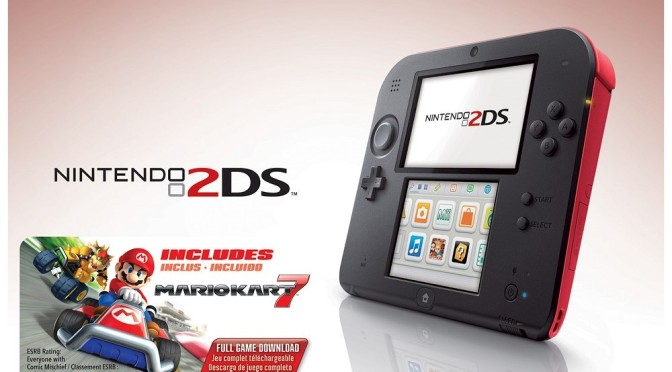 Nintendo 2DS Getting a Price Cut