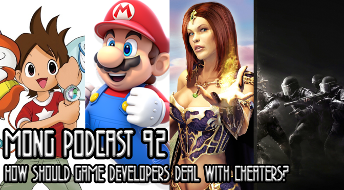 MONG Podcast 92 | How Should Game Developers Deal With Cheaters?