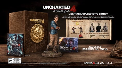 Collector's Editioon Uncharted 4