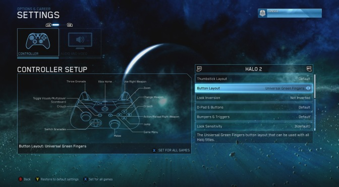 Remapping Console Control Configurations