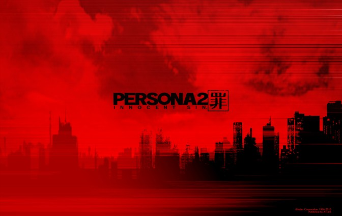 12 Hours Into Persona 2: Innocent Sin