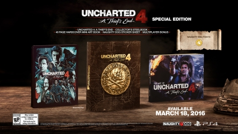 Speical Edition Uncharted 4