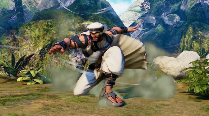 Street Fighter V Introduces Rashid