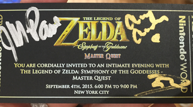 Zelda Symphony at Nintendo World Store Impressions