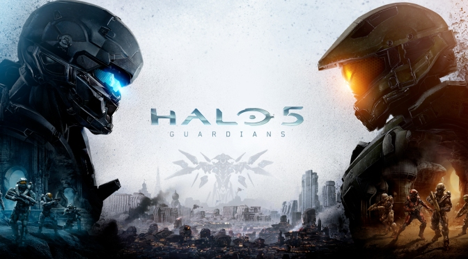 Master Chief is on the Run in Halo 5: Launch Gameplay Trailer