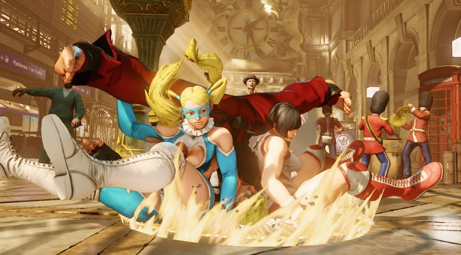 Street Fighter V Characters Cinematics Altered